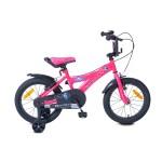 """Детски велосипед 16"""" Devil розов BYOX"""