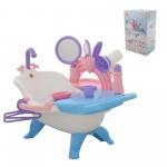 Вана за къпане на кукла с аксесоари Polesie Toys