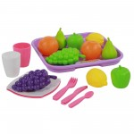 Кухненски комплект с поднос 21 ел. - 46970