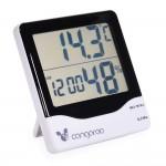 Термометър с дигитален часовник и хигрометър - TL8020