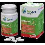 Пробиотик за умствени натоварвания ProLact Energy +, 60 капсули