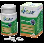 Пробиотик за подобряване на паметта ProLact Memory+, 60 капсули