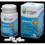 Пробиотик ProLact Aloe+ за укрепване на кръвоносните съдове, 60 капсули