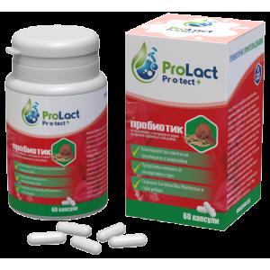 Пробиотик ProLact Protect+ за укрепване на сърцето, 60 капсули