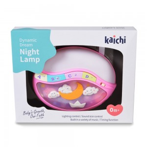 Нощна лампа Dynamic dream розов - K999-108G
