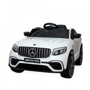 Акумулаторен джип Mercedes GLC63 бял- QLS 5688