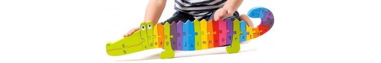 Дървени образователни играчки