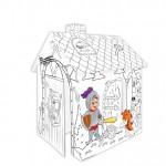 Картонена къща за оцветяване РИЦАР